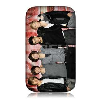 1D BRITISH BOY BAND BACK CASE COVER FOR HTC WILDFIRE S