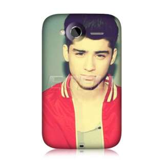 MALIK ONE DIRECTION 1D RED BACK CASE COVER FOR HTC WILDFIRE S