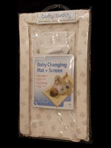 Baby Beige Brown Padded Nappy Changing Mat +Toys+Screen