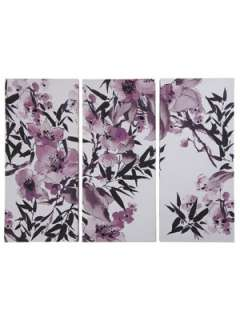 Graham & Brown Kyoto Cherry Blossom Canvas Wall Art Very.co.uk