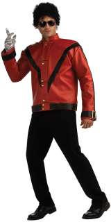 Red Michael Jackson Thriller Jacket Costume   Michael Jackson Costumes