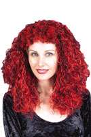 Gothic Costume Wig (Red/Black) listed price $14.95 Our Price $11.95