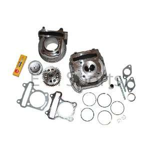 Gy6 Moped Bike Engine Motor Complete Big Bore Kit 82cc