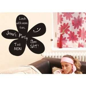 Flower Chalkboard Wall Decal Size 16 H, Emailed Proof