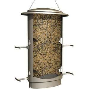 More Birds X 1, Squirrel Proof Bird Feeder, 4 Feeding Ports, 4.2 Pound