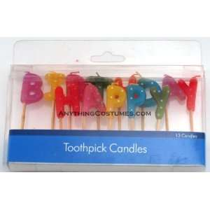 Happy Birthday Candle Picks Toys & Games