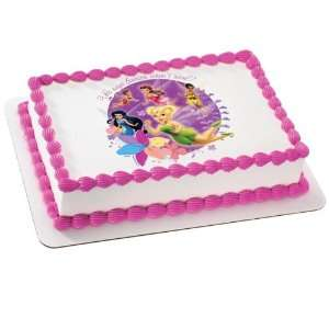 Pac Disney Fairies   Fairies Arent Real? Edible Icing Cake Topper