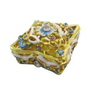 box   Bejeweled Swarovski Crystal diamond Jewelry Trinket Box (JF1497