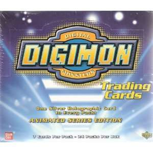 Digimon Trading Cards   Animated Series Edition (Box