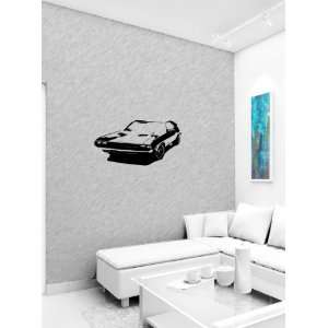 Dodge Challenger Cars Wall Vinyl Sticker Decals Art Mural