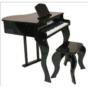 37 Key Elite Baby Grand Piano in Black by Schoenhut Toys