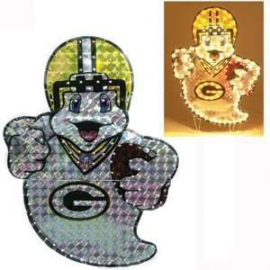 Green Bay Packers 44 Lighted Ghost Halloween Lawn Figure   NFL