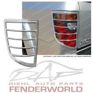 HONDA RIDGELINE 06 07 08 CHROME TAIL LIGHT COVER TRIM