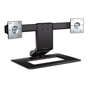 New   HP Adjustable Dual Monitor Stand   AW664AA#ABA