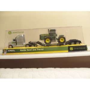 ERTL John Deere Hauler Semi And Trailer w/Tractor (Toy