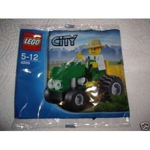 LEGO City Mini Figure Set #4899 Tractor Bagged Toys & Games