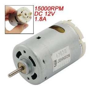 Replacement Part DC 12V 1.8A 15000RPM Electric Motor