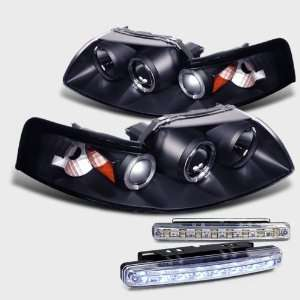 Ford Mustang Halo Projector Head Light+LED Bumper Automotive