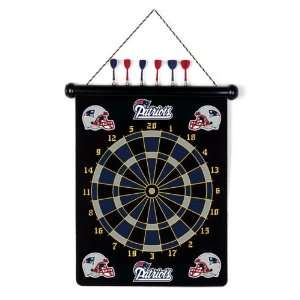 NFL NEW ENGLAND PATRIOTS MAGNETIC DARTBOARD  Sports