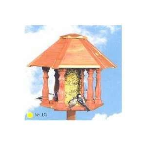 Perky Pet Savannah Gazebo Bird Feeder Patio, Lawn