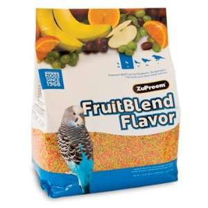ZuPreem Fruit Blend Bird Food Parakeet 10lb