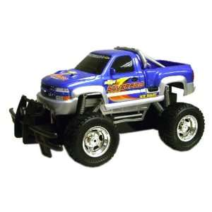Scale Radio Control Full Function Chevy Silverado, Blue Toys & Games