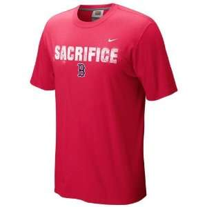 Boston Red Sox Sacrifice T Shirt (Red)