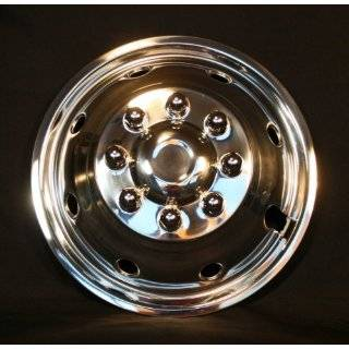 Pacific Dualies 38 1608 Polished 16 Inch 8 Lug Stainless Steel Wheel