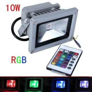 LED RGB Outdoor Flood Light with Remote Controller