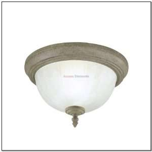 Westinghouse 67605 1 Light White Finish Ceiling Light