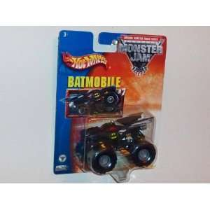 Hot Wheels Monster Jam Metal Collection 164 Scale Truck  Batmobile #7