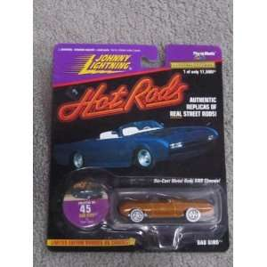 1997 Johnny Lightning Hot Rods #45 Bad Bird #05816 of 17,500  Toys