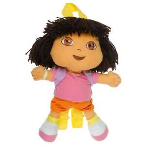 Dora the Explorer DOLL 14 Plush Backpack Doll  Toys & Games