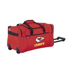 Kansas City Chiefs NFL Rolling Duffel Cooler by Northpole