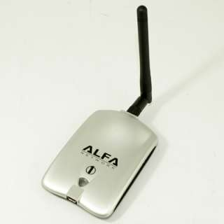 802.11g High Power Wireless USB WiFi Adapter 1000mW with 2 dBi Antenna
