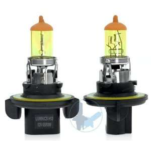 08 09 Mini Cooper Coupe H13 Super Yellow Light Bulbs For