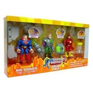 Dc Super Friends Action Figure 3 pack Green Lantern, Batman & Aquaman