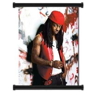 Lil Wayne Rapper Fabric Wall Scroll Poster (16x21) Inches