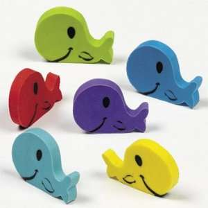 Whale Erasers   Basic School Supplies & Erasers & Pencil