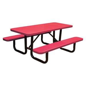 Perforated Commercial Grade Picnic Tables