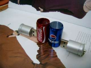 16GB Metal Coke Cans USB Memory Stick Flash Pen Drive PX08