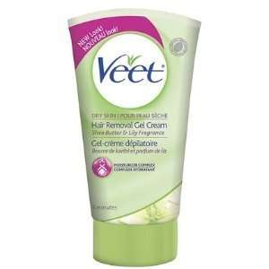 Veet Hair Remover Gel Cream for Dry Skin with Shea Butter