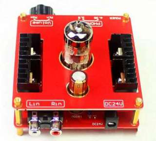 Tube 6N11 + FET DIY Pure Class A Headphone Amplifier AMP+Power Adapter