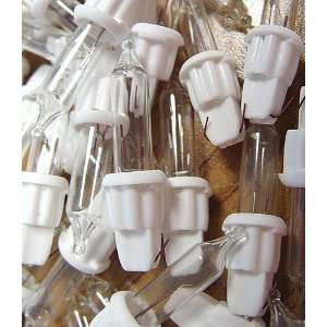 Club Pack of 100 Clear Mini Christmas Replacement Light